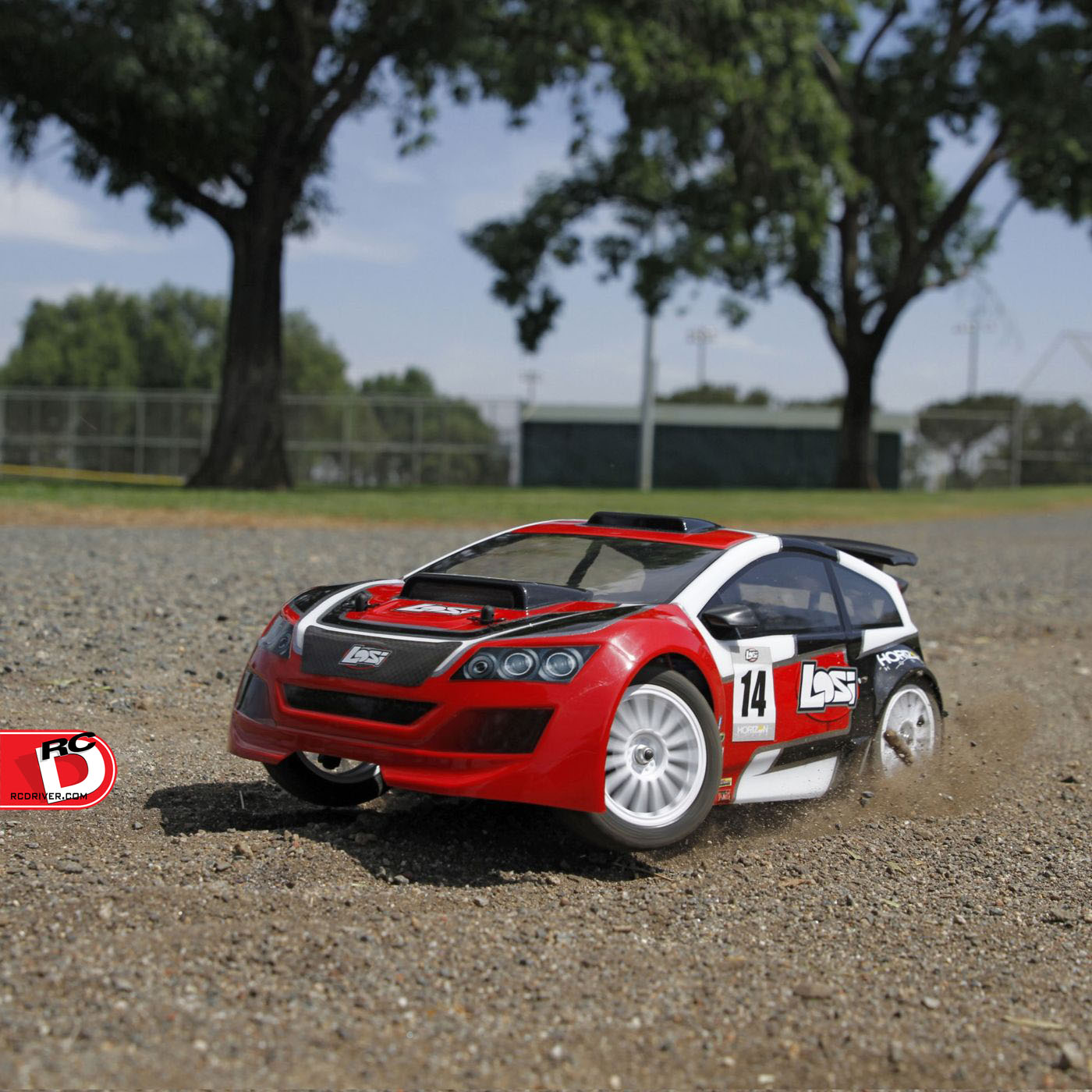 The Losi 1/14 Mini Rally Car