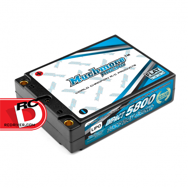 Muchmore Racing Impact FD2 Square 5800mAh, 100C LiPo Battery Pack