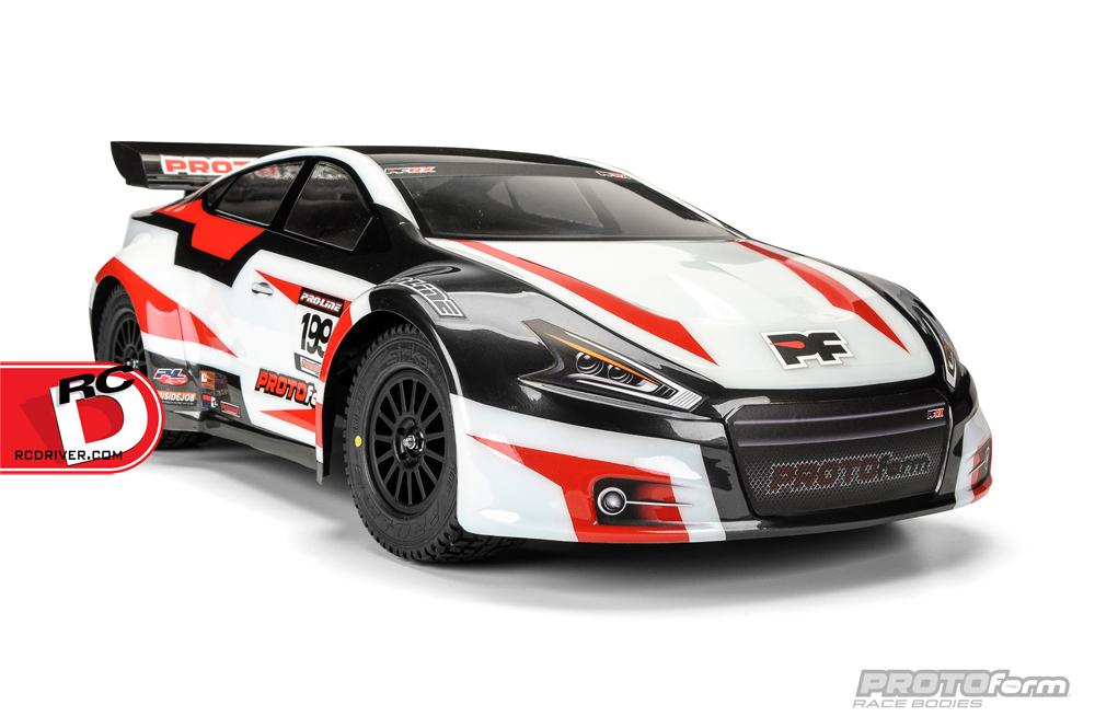 PROTOform PFRX Rallycross Clear Body