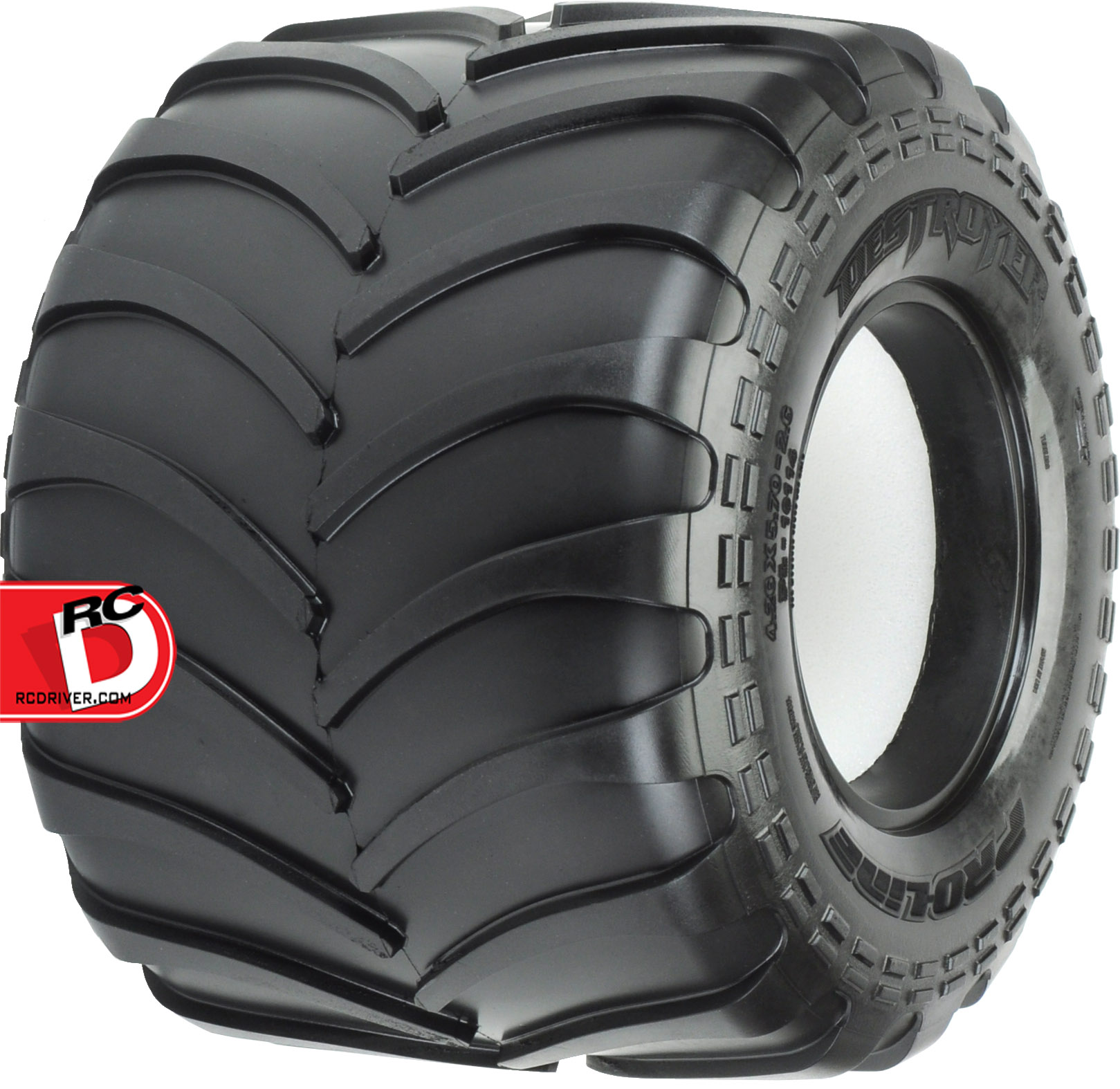 Pro-Line Destroyer 2.6″ M3 All Terrain Tires for the Clod Buster