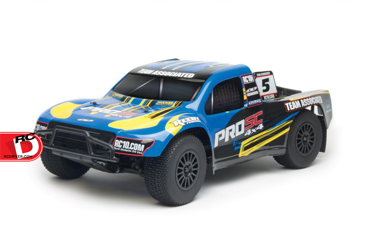 2 New Versions of the ProSC 4×4 Ready-To-Run from Team Associated