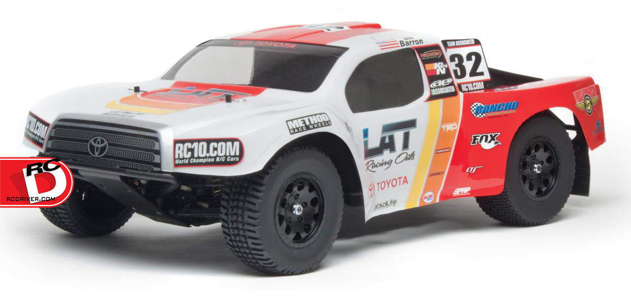 SC10 Brushless RTR Combos with LiPo Battery and Charger