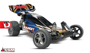 Traxxas - Bandit VXL With Traxxas Stability Management System