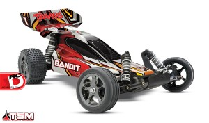 Traxxas - Bandit VXL With Traxxas Stability Management System_2 copy