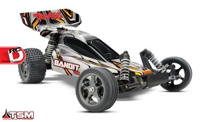 Traxxas - Bandit VXL With Traxxas Stability Management System_3 copy