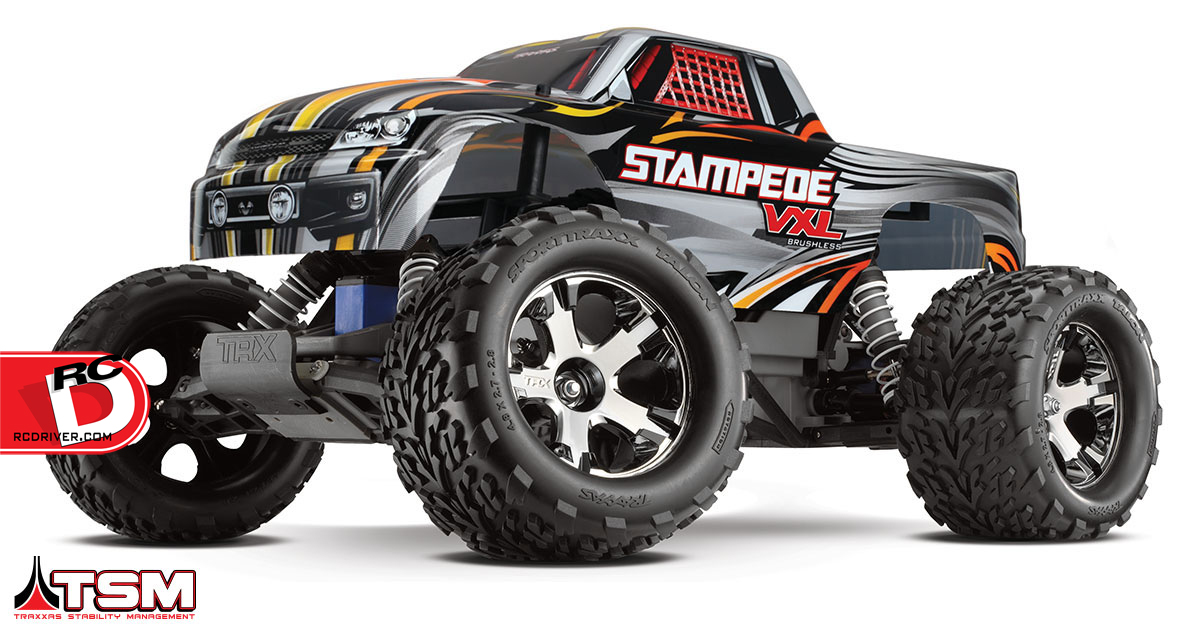 Stampede VXL With Traxxas Stability Management System