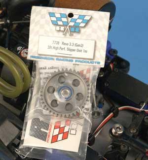 Install a Robinson Racing Gear in a Traxxas Revo