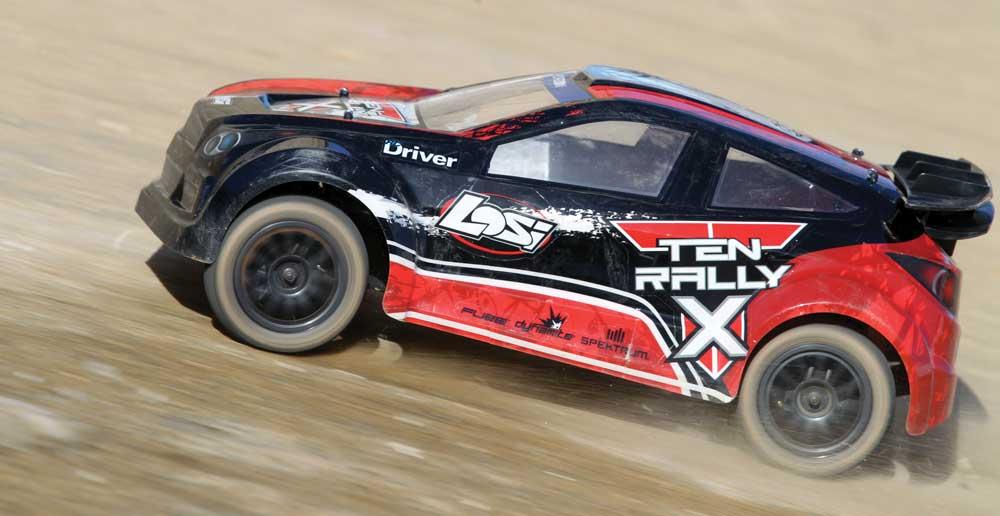 Losi TEN Rally X