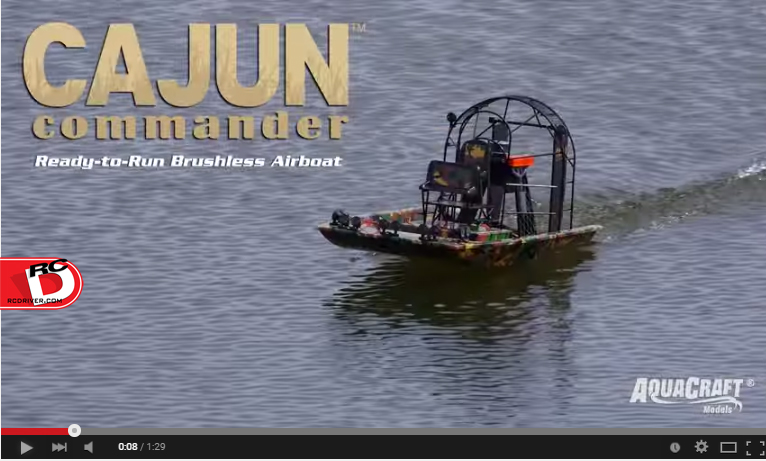 Watch the AquaCraft Cajun Commander In Action!
