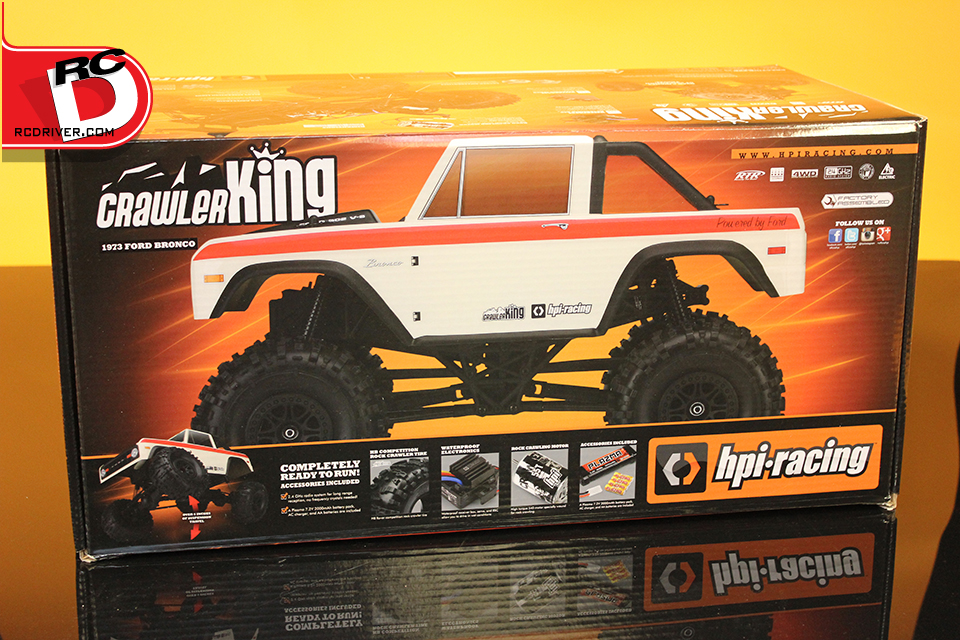 HPI Racing Crawler King Reveal