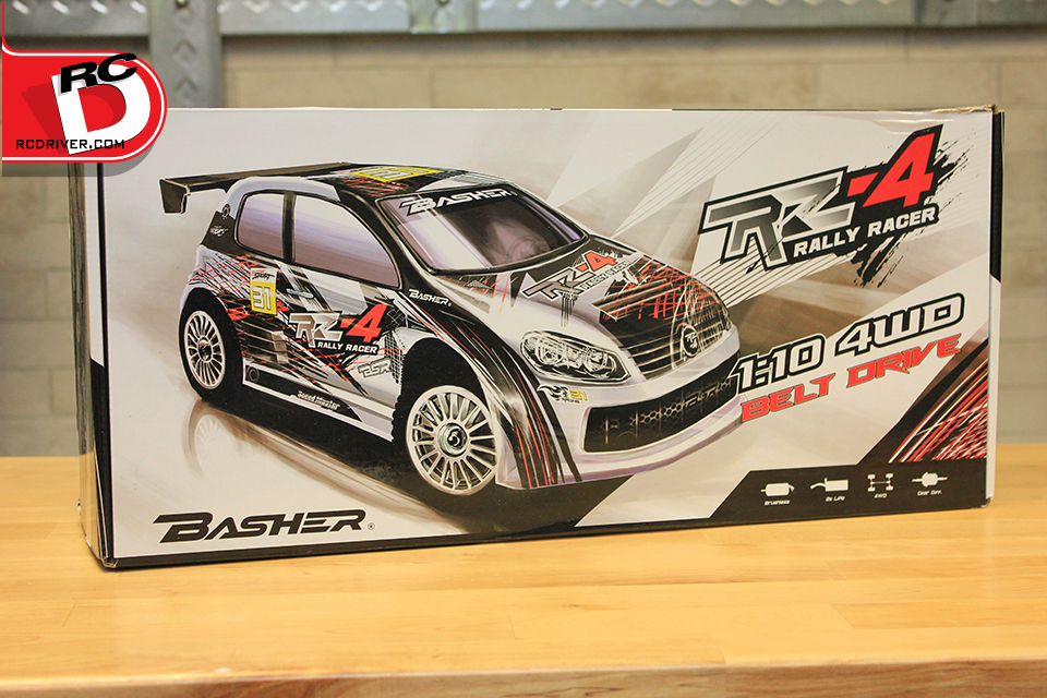 Basher RZ-4 1/10 Rally Racer