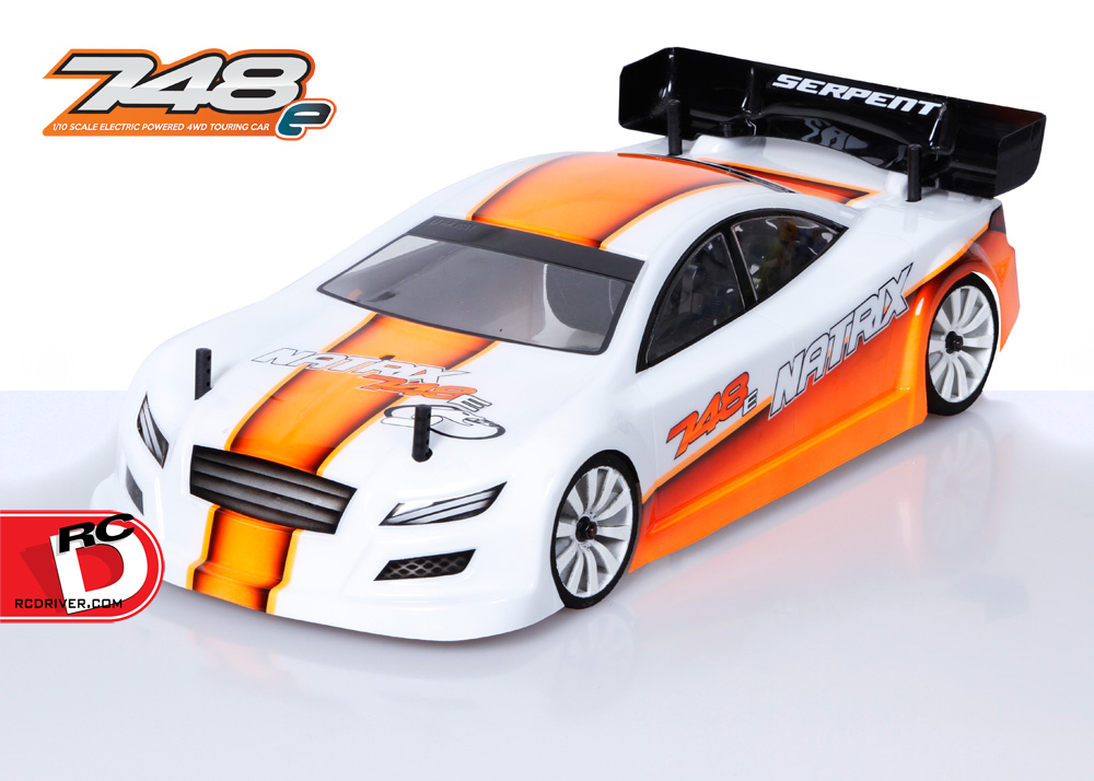 Serpent Natrix 748-e 1/10 200mm Touring Car