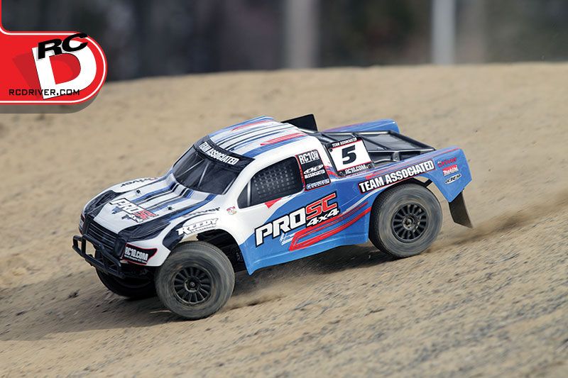 Team Associated ProSC 4×4 Short Course Truck Action