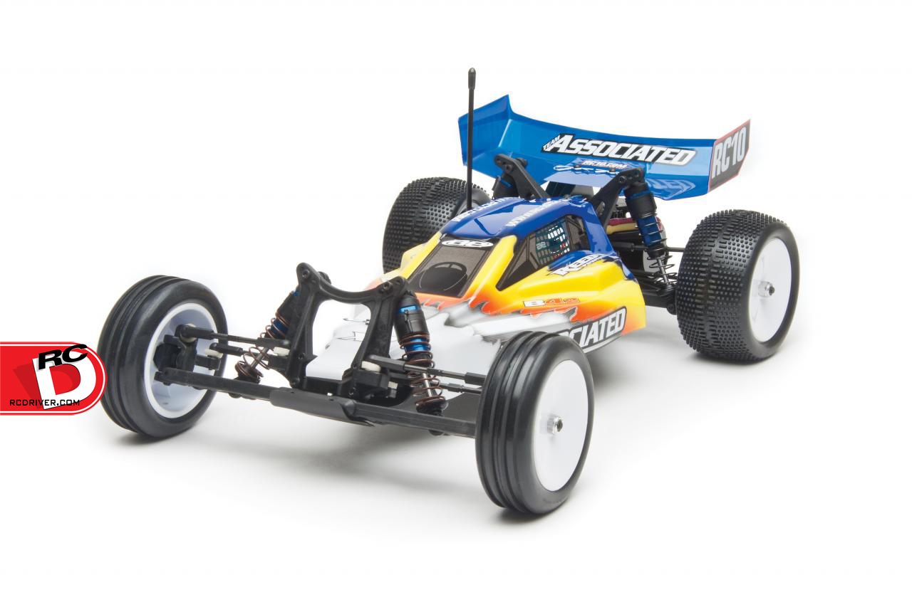 RC10B4.2 RTR Brushless LiPo Combo