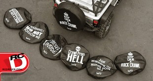 Yeah Racing Crawler Spare Tire Cover