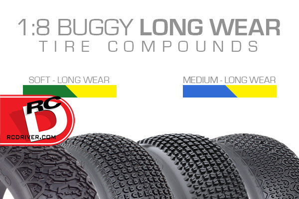 1/8 Long Wear Compound Tires From AKA