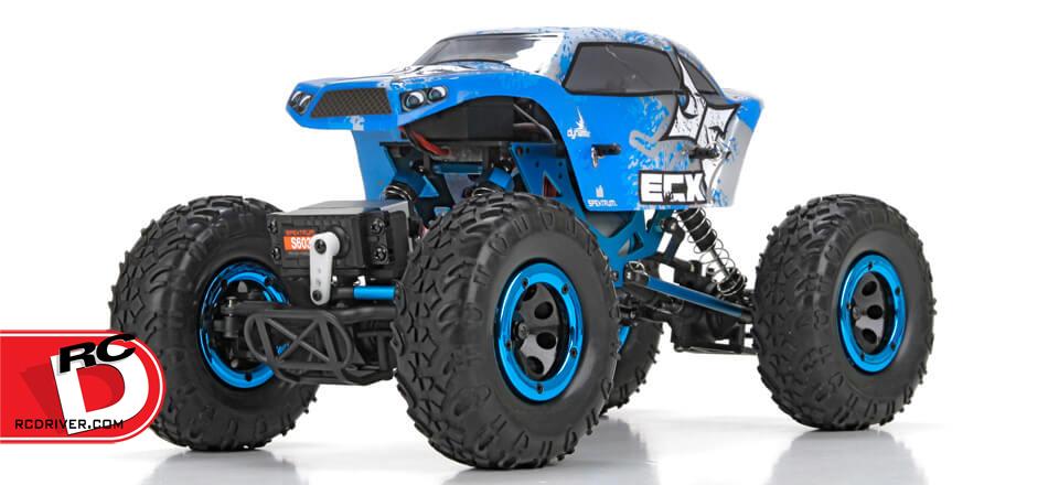 Temper 1/18th 4WD Rock Crawler from ECX
