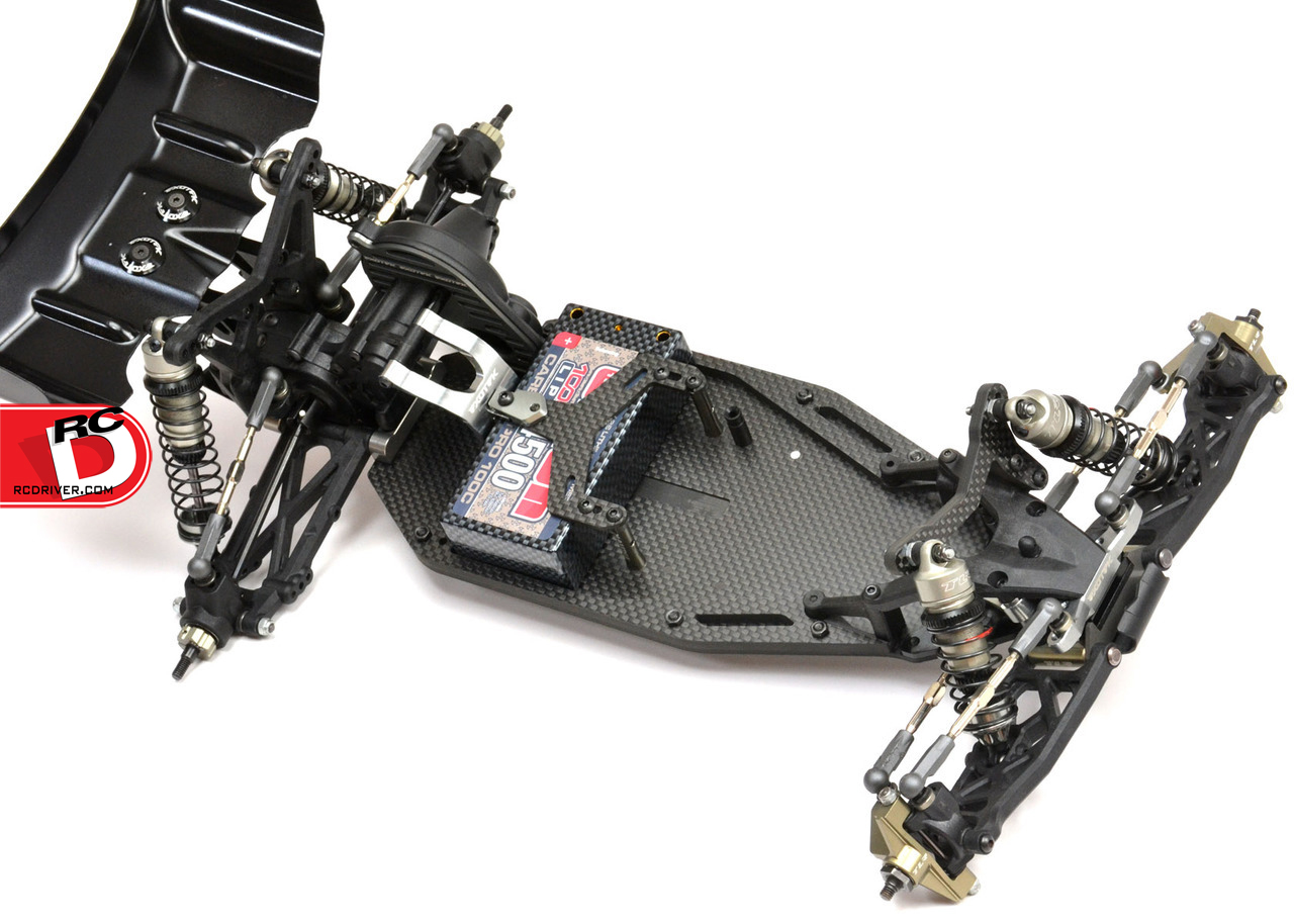 Exo 22 Mid-Motor Chassis Sets for the TLR 22 and 22 2.0