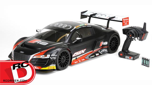 Losi AWD Audi R8 LMS Ultra FIA-GT3 BL RTR with AVC