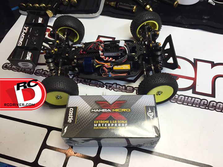 Castle Creations Mamba Micro X with a Sensored Motor