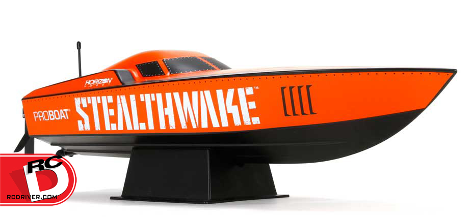 "Stealthwake 23"" Deep-V from Pro Boat"