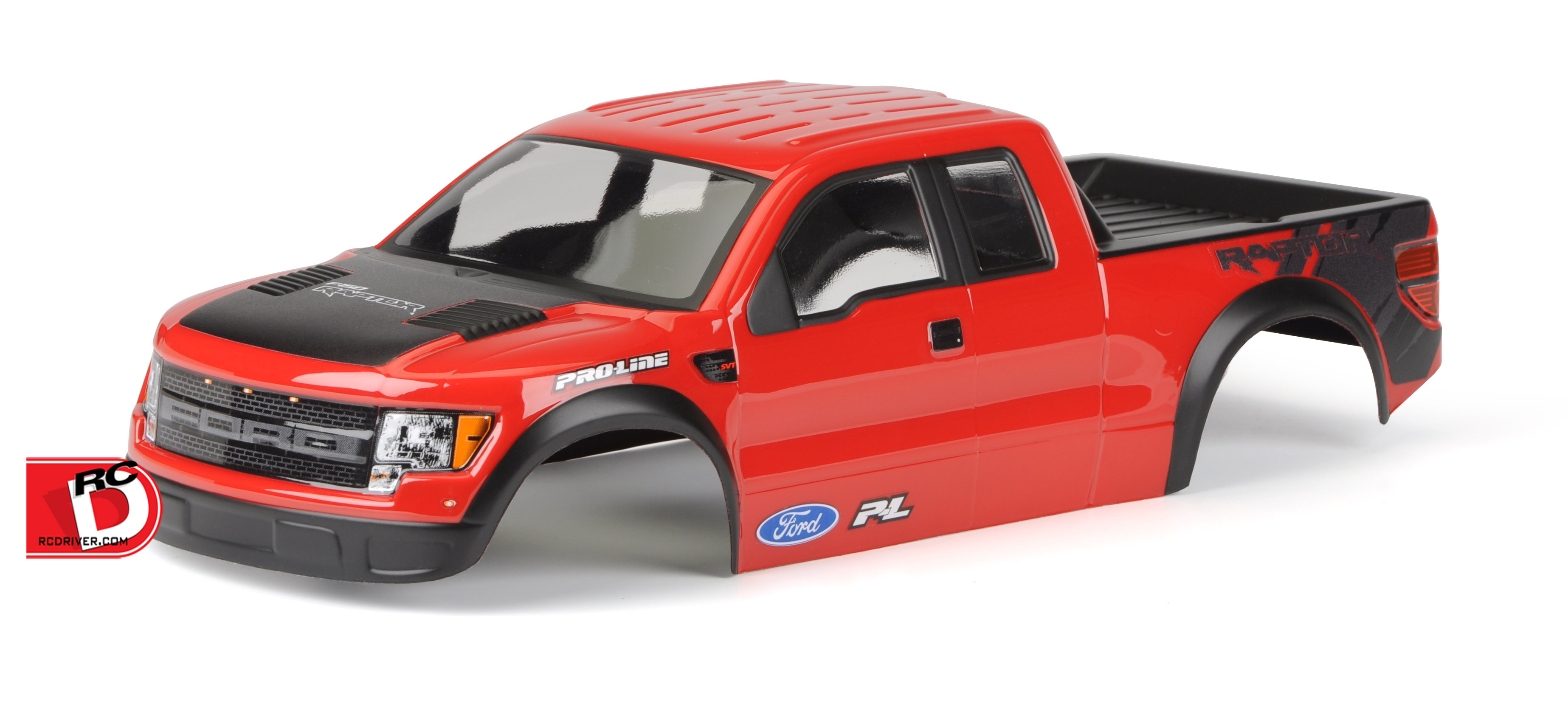 Pre-Cut and Painted Ford F-150 Raptor SVT Body for the Stampede