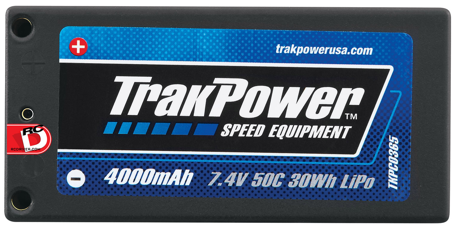 New Lineup of High End LiPo Batteries from TrakPower