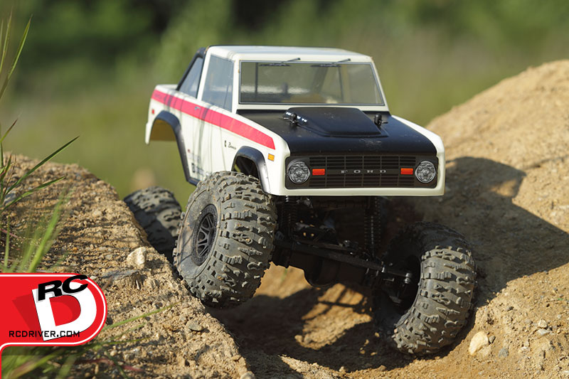 HPI Crawler King Bronco Action