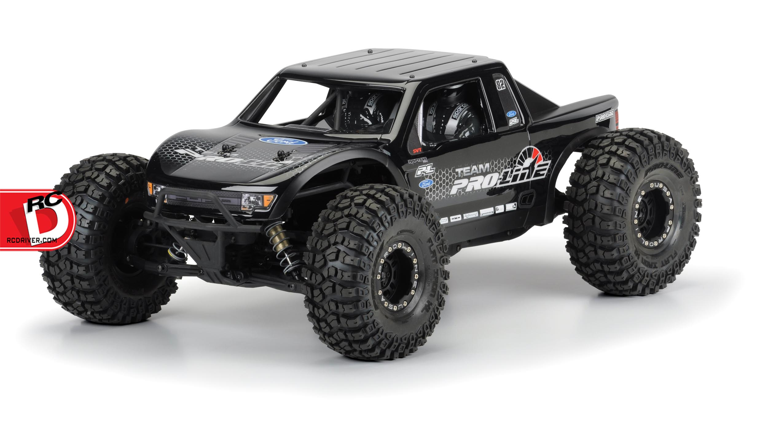 Pro-Line Ford F-150 Raptor SVT Clear Body For The Yeti