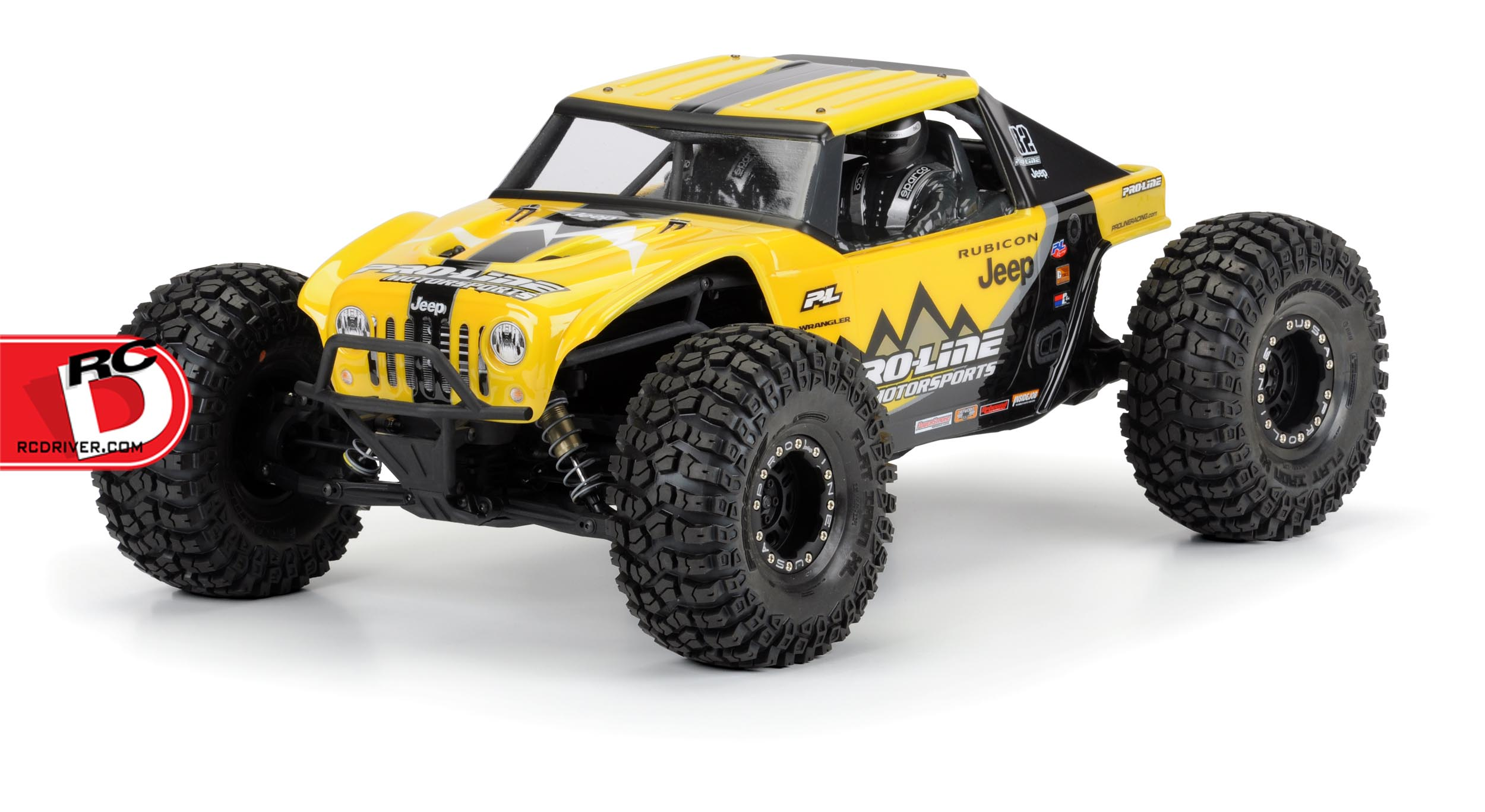 Pro-Line Jeep Wrangler Rubicon Clear Body For The Yeti
