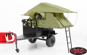 RC4wd - Bivouac 1-10 M.O.A.B Camping Trailer with Tent
