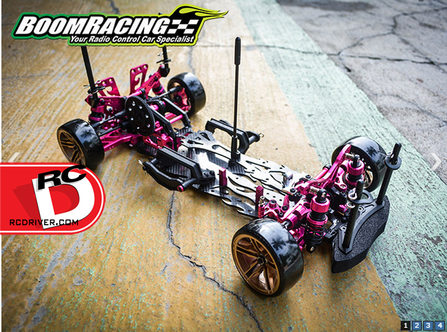Boom Racing Upgrades For Sakura D4 RWD/AWD At AsiaTees