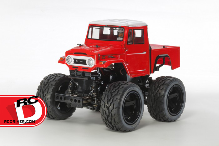Tamiya Toyota Land Cruiser 40 Pick-Up with Red Painted Body (GF-01)
