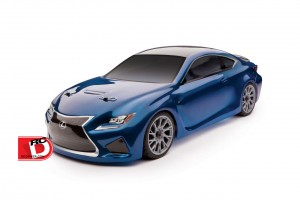 Team Associated - APEX Lexus RC F Brushless Ready-To-Run LiPo Combo