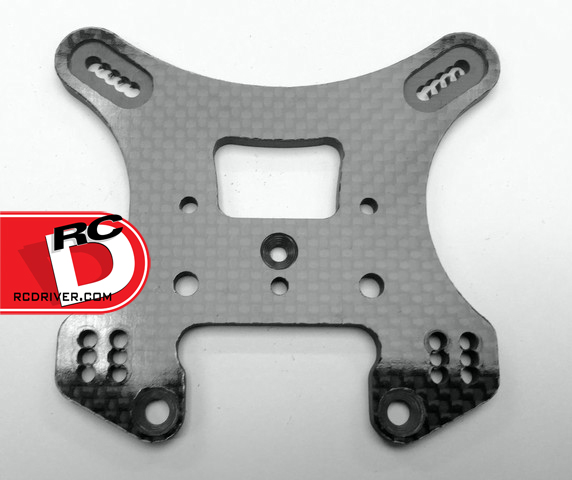 Xtreme Racing Carbon Fiber Shock Towers For The RC8B3