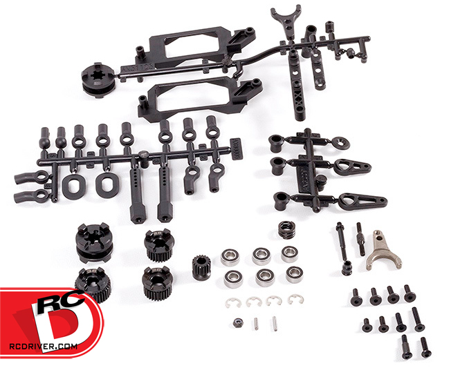 Axial 2-speed Hi/Lo Transmission conversion kit for the 1/10 scale YETI transmissions