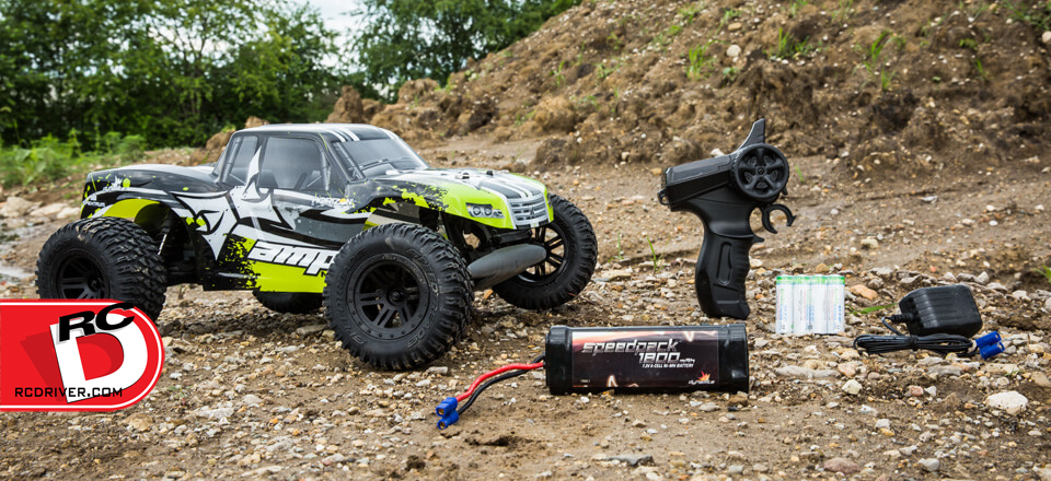 ECX AMP 2wd Monster Truck and Desert Buggy
