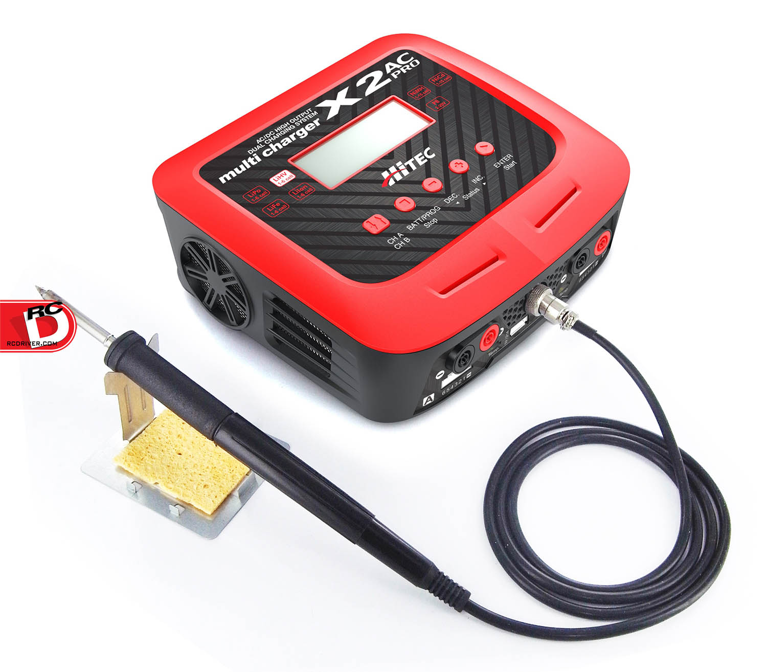 X2 AC Pro – AC/DC Multi Charger and Soldering Iron from Hitec