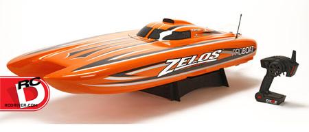 """Pro Boat Zelos 48"""" Catamaran"""
