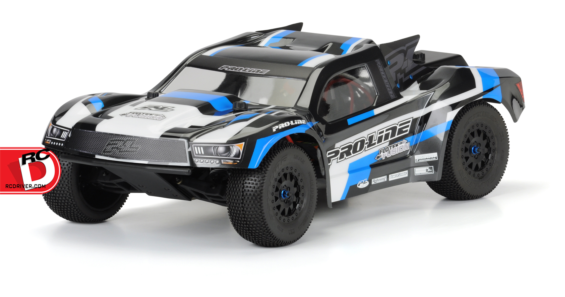 Pro-Line Pre-Cut Flo-Tek Fusion Clear Body