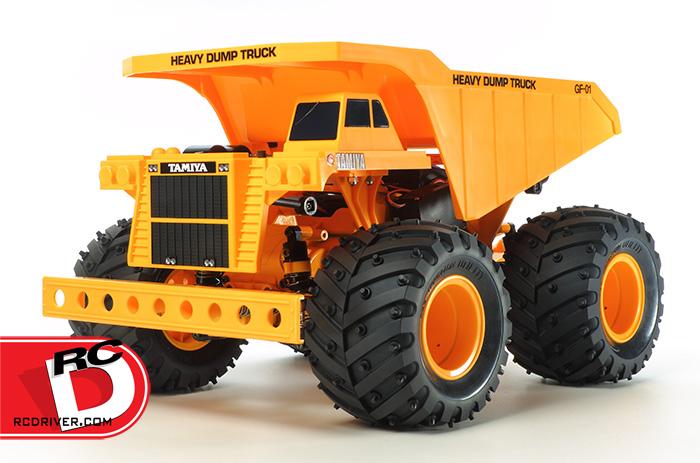 Tamiya Heavy Dump Truck GF01