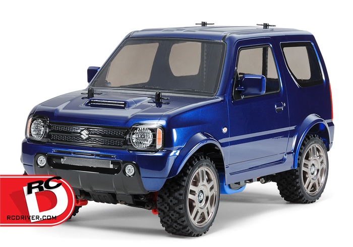 Tamiya Suzuki Jimny JB23 – MF-01X Met with Blue Painted Body