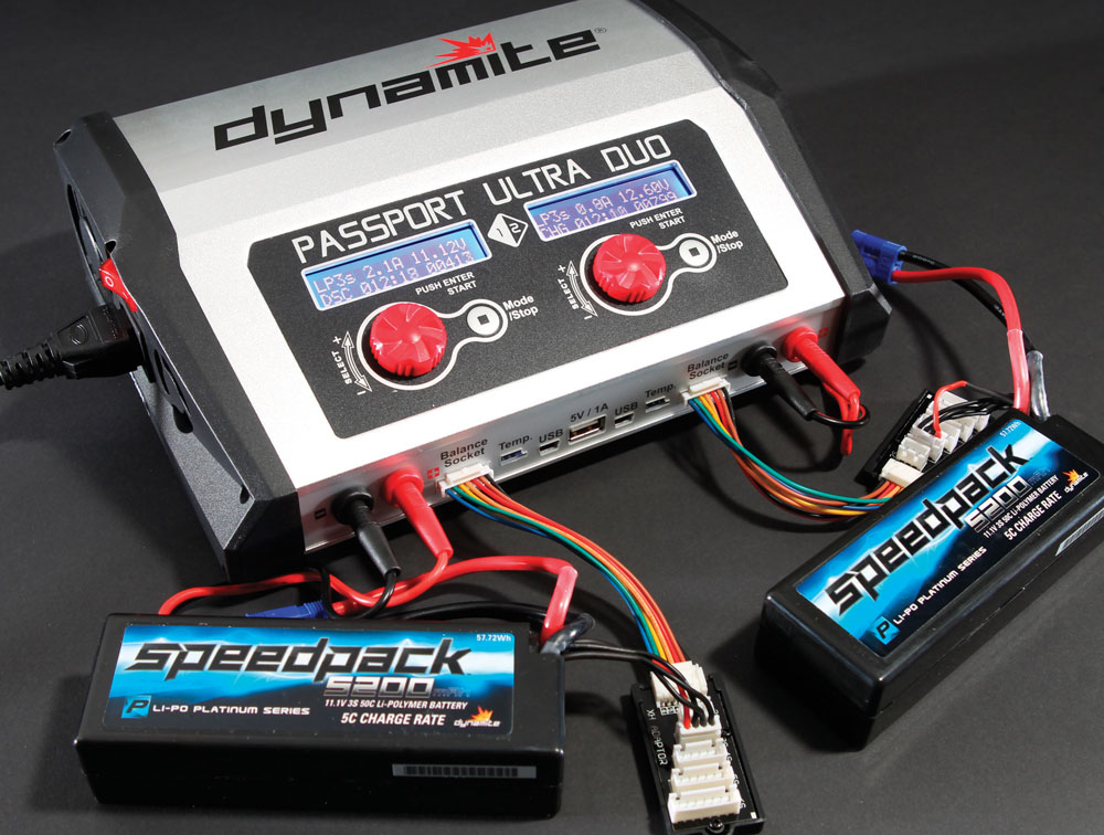 Dynamite Passport Duo 400W Dual Charger