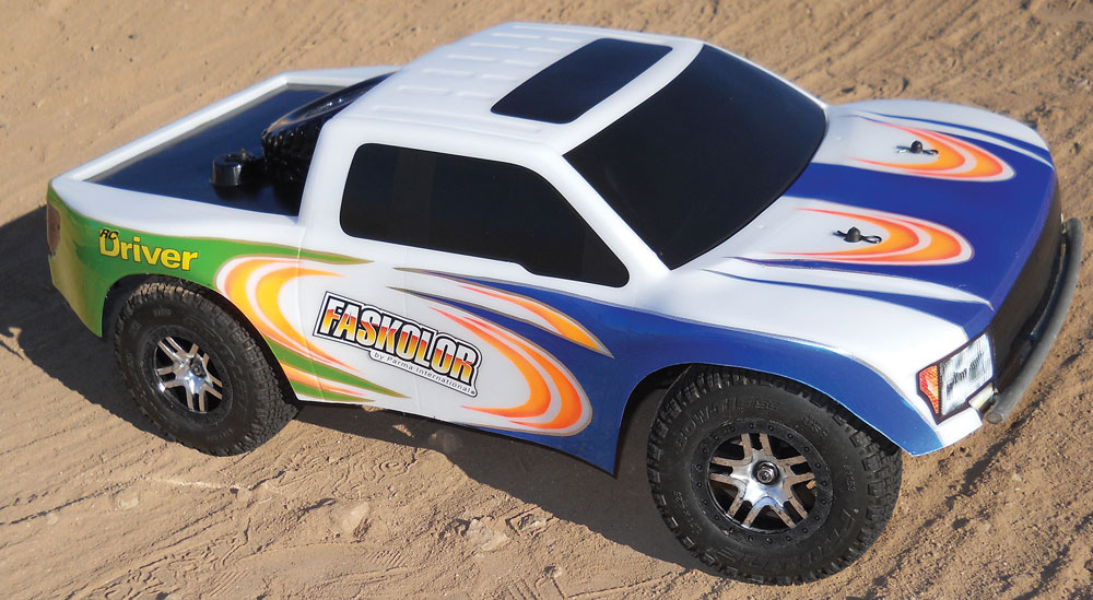 Parma Raptor Body Gets Race Theme