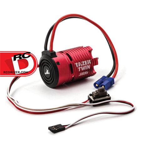 Dynamite Tazer Twin Brushless 3300kv Motor/ESC Combo