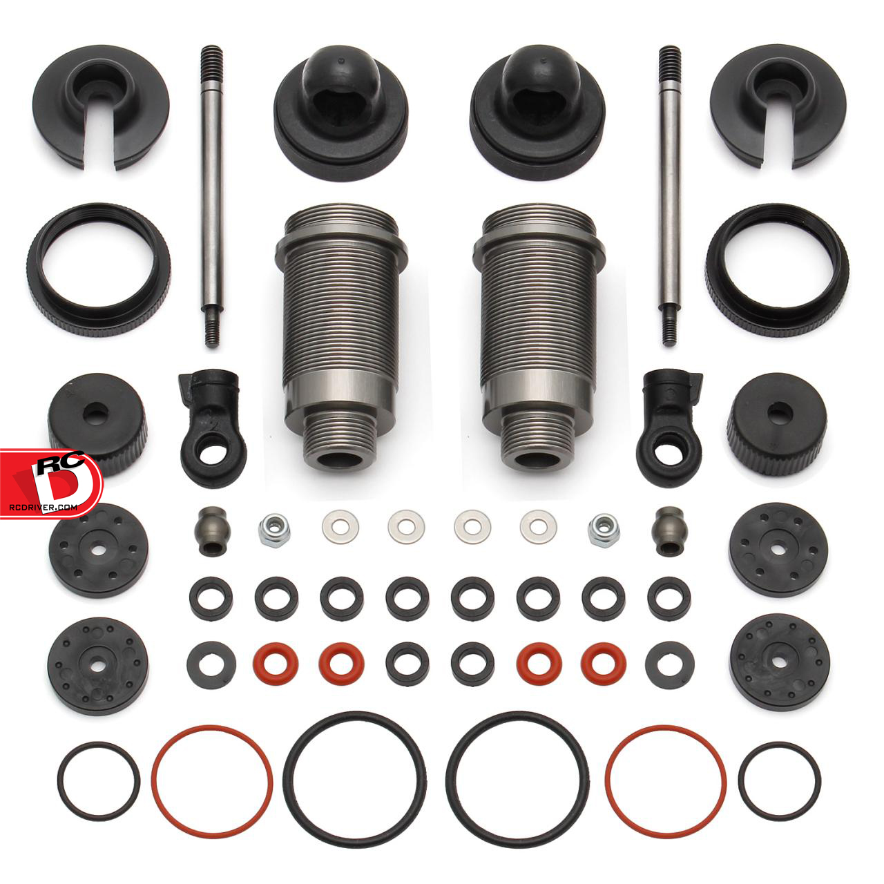 FT ProLite 4×4, ProSC 4×4, and ProRally 16mm Threaded Aluminum Shock Kit for Qualifier 4×4 Series