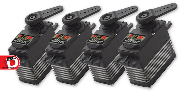 Hitec D940TW, D945TW, D950TW & D980TW Titanium Geared Servos