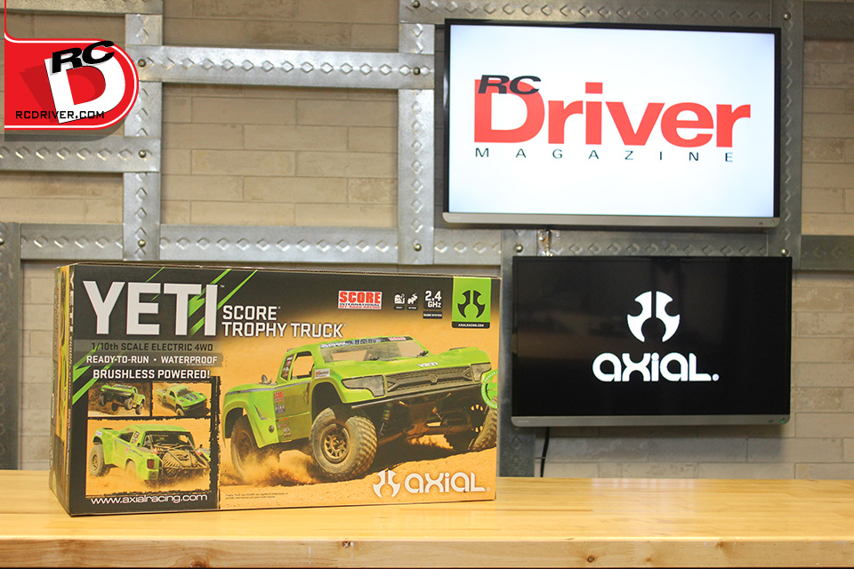 Axial Yeti SCORE Trophy Truck Brushless 1/10 RTR