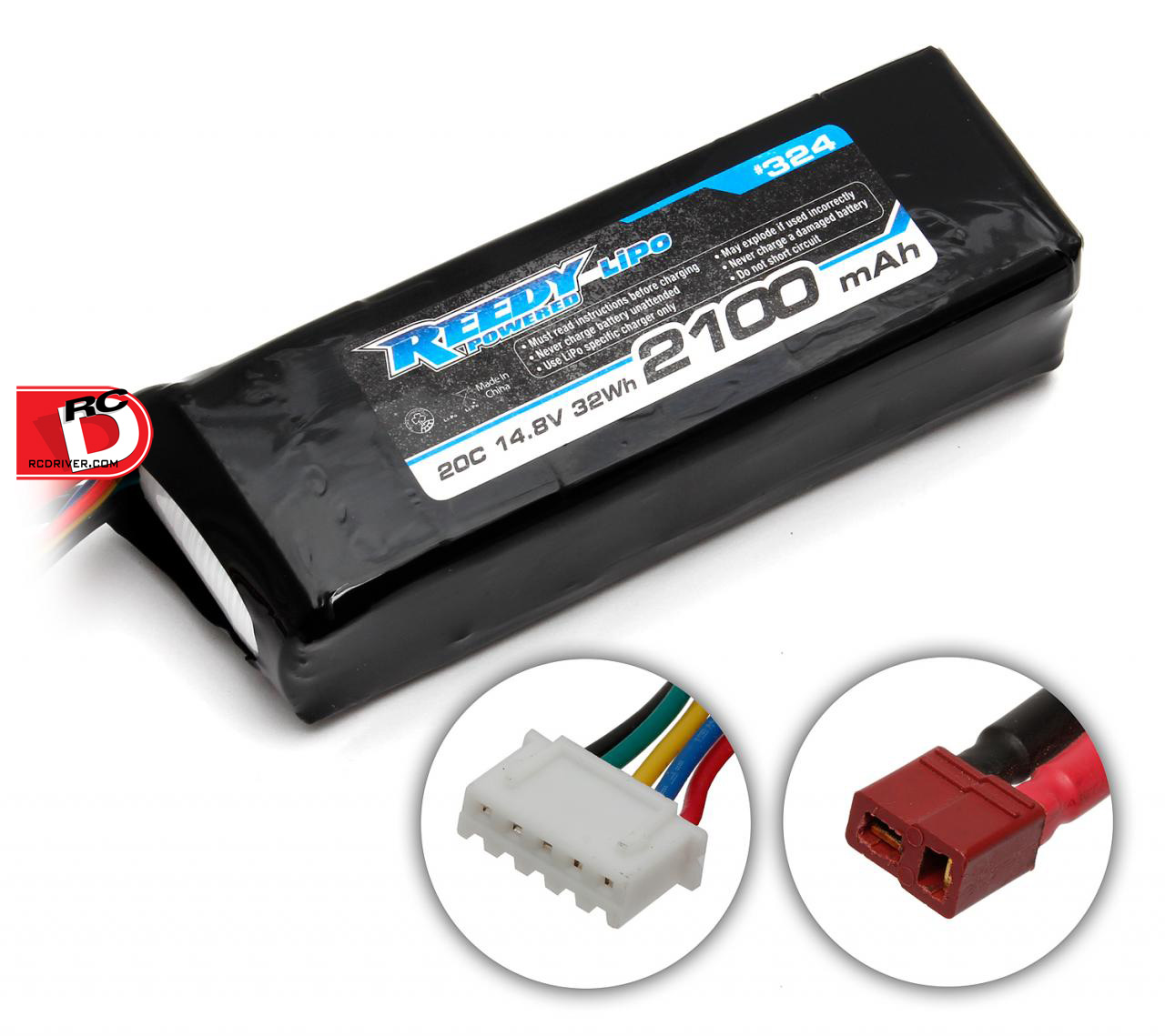 Reedy 2100mAh 20C 14.8V LiPo Starter Box Battery