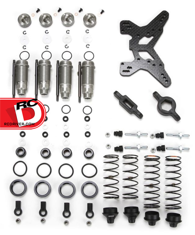 TLR SCTE to 22 Shock Conversion Set